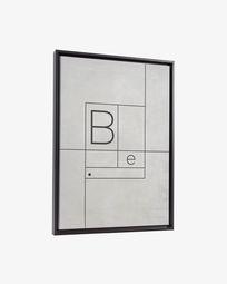 Πίνακας Myrthe 50 x 70 εκ, λευκό