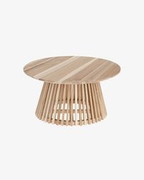 Jeanette Ø 80 cm natural coffee table