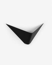 Επιτοίχιο φωτιστικό Ginebra, μαύρο