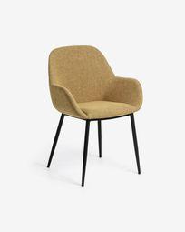 Καρέκλα Konna, μουσταρδί