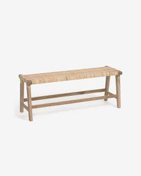 Beida solid teak bench 120 cm