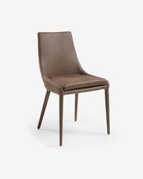Καρέκλα Davi, καφέ