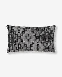 Κάλυμμα μαξιλαριού Nazca 30 x 50 εκ, σκούρο γκρι