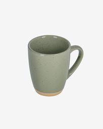 Tilia ceramic cup in dark green