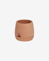 Small Luigina terracotta planter with self-watering system Ø 27 cm