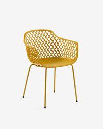 Καρέκλα Quinn, κίτρινο