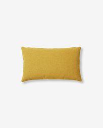 Κάλυμμα μαξιλαριού Kam, μουσταρδί, 30 x 50 εκ