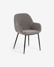 Καρέκλα Konna, ανοιχτό γκρι