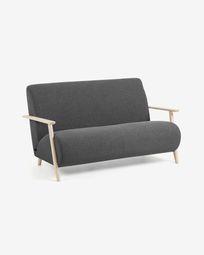 Graphite 2 seaters Meghan sofa 145 cm