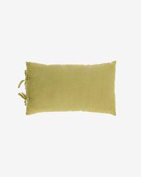 Κάλυμμα μαξιλαριού Tazu, 100% λινό, 30 x 50 εκ, πράσινο