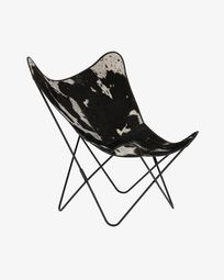 Καρέκλα Fly, τομάρι αγελάδας
