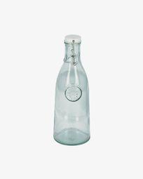 Tsiande clear glass bottle