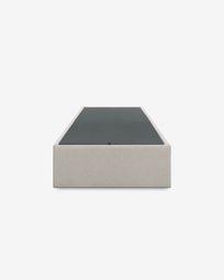 Βάση κρεβατιού με αποθηκευτικό Matter 90 x 190 εκ, μπεζ