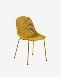 Καρέκλα Quinby, κίτρινο
