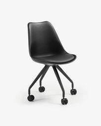 Καρέκλα γραφείου Ralf, μαύρο