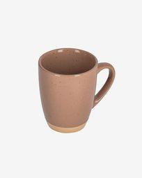 Tilia ceramic cup in light brown