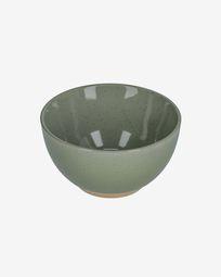 Tilia ceramic bowl in dark green