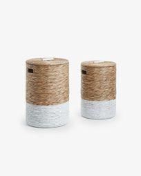 Mast set of 2 laundry baskets