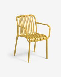 Καρέκλα κήπου Isabellini, μουσταρδί