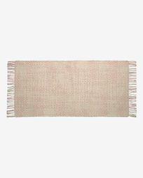 Χαλί Nur 70 x 140 εκ, ροζ