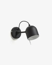 Lucilla wall lamp black