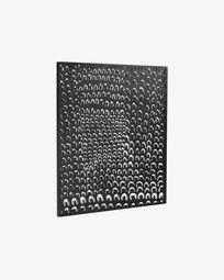 Cyna metal frame 64 x 70 cm