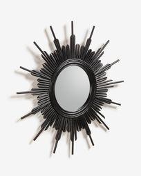 Καθρέπτης Marelli Ø 70 εκ, μαύρος