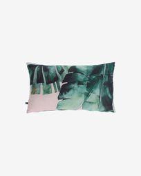 Κάλυμμα μαξιλαριού Hermie, πράσινα φύλλα 30 x 50 εκ
