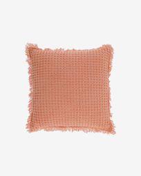 Κάλυμμα μαξιλαριού Shallow, 100% βαμβακερό, 45 x 45 εκ, πορτοκαλί