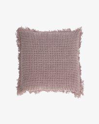 Κάλυμμα μαξιλαριού Shallow 45 x 45 εκ, ροζ