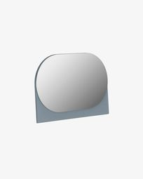 Mica mirror grey 23 x 16 cm