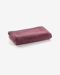 Μικρή πετσέτα μπάνιου Miekki, μπορντώ