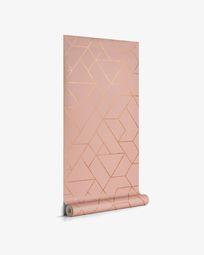 Gea 10 x 0,53 m pink and gold wallpaper FSC MIX Credit
