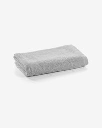 Μικρή πετσέτα μπάνιου Miekki, ανοιχτό γκρι