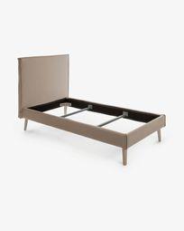 Bed Venla 90 x 190 cm brown