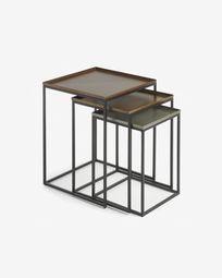 Vinker F set of 3 nesting tables