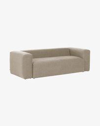 2θ καναπές Blok 210 εκ, μπεζ