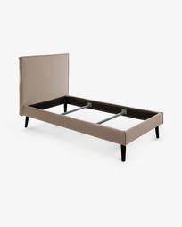 Bed Venla 160 x 200 cm brown