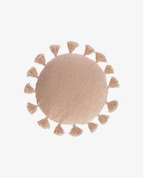 Chiarina pink cushion cover Ø 45 cm