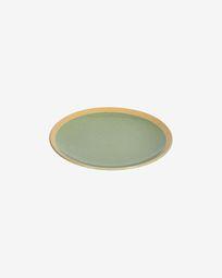Tilia ceramic dessert plate in light green