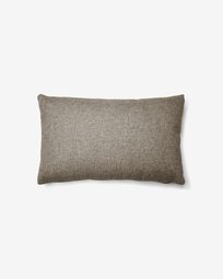 Κάλυμμα μαξιλαριού Kam 30 x 50 εκ, χρονο καφέ