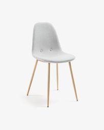 Καρέκλα Yaren, ανοιχτό γκρι