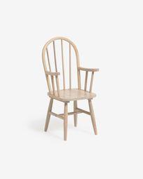 Παιδική καρέκλα Daisa, μασίφ ξύλο καουτσούκ