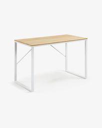 Γραφείο Talbot 120 x 60 εκ, ορθογώνιο, λευκό