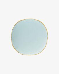 Κάλυμμα μαξιλαριού Fresia Ø 45 εκ, μπλε