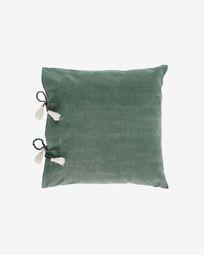 Κάλυμμα μαξιλαριού Varina, 100% βαμβάκι, 45 x 45 εκ, πράσινο