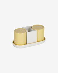 Κεραμικό αλατοπίπερο Midori, κίτρινο