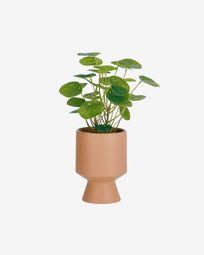 Τεχνητό φυτό Bailey, ροζ κεραμική γλάστρα 21.6 εκ