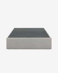 Storage bed base Matters 140 x 190 cm grey