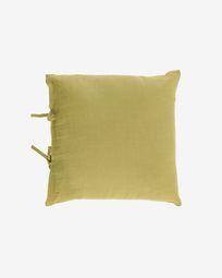 Κάλυμμα μαξιλαριού Tazu, 100% λινό, 45 x 45 εκ, πράσινο
